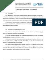 Capítulo 4 O Impacto Econômico da Incerteza