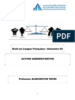 Action Administrative DLF S3