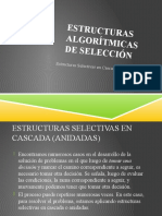 Día 3 - Estructuras Algorítmicas de Selección-Condiciones Anidadas