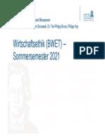 BWET 2021 SoSe Komplett