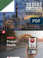 30 Días de Oración Por El Mundo Musulmán 2021