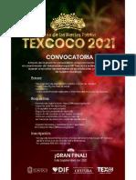 Convocatoria Reina de las Fiestas Patrias Texcoco 2021