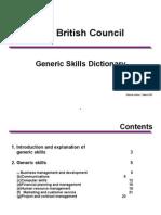 Generic Skills Dictionary