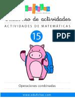 MA0015 Operaciones Combinadas PDF Edufichas