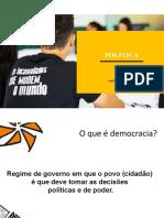 PPT - Oficina 21 - Politica(1)