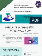 Grupo Verde Limón - Estados de Cambio en El Patrimonio Neto