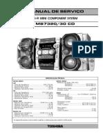 Toshiba 7320CD Manual Service