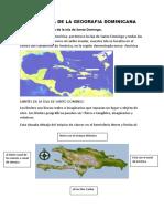 Panorama de La Geografia Dominicana (1)