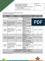 Cronograma de Actividades EDW1 2021