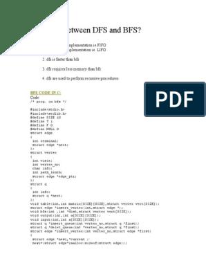 DFS and BFS | Algorithms | Combinatorics