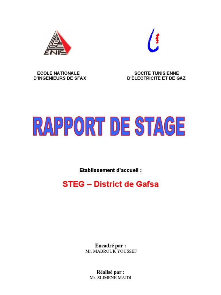 Rapport de stage - Rapport de stage en cuisine ...