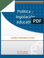 Politica y Legislacion Educativa