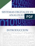 B. Digital vs Analogico