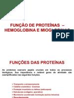 Aula 04 - Função de Proteina 2019