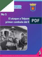 No 5 El Ataque a Telpaneca, Primer Combate del EDSNN.