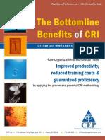 Bottomline Benefits of CRI