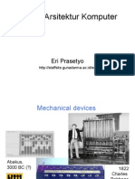 Sejarah Arsitektur Komputer