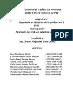Informe Sobre La Aplicacion Del OEE