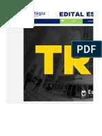 Edital Estratégico TRF3 Juiz