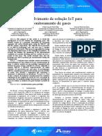 Desenvolvimento de solução IoT para monitoramento de gases