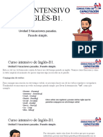 Curso Intensivo de Inglés-B1 Pasado Simple