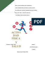 TALLER DE EDUCACION FISICA SALUD Y DEPORTE SERENA MIRO