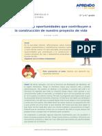 Exp4 Secundaria 3y4 Seguimosaprendiendo Tutoria Act03Oportunidadesyproyectodevida