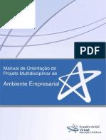 Manual projeto Ambiente Empresarial(1)