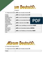 E1 Warum Deutsch