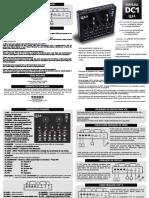 Manual Mesa de Som V8 dc1 - FINAL