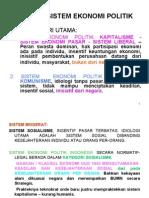 Anatomi Sistem Ekonomi Politik (Baru)