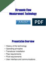 McDowellUltrasonicFlowMeasurement Presentation