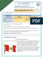 COM. LEEMOS SOBRE EL BICENTENARIO
