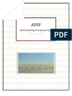 ADSF Continous Steel Hoarding System