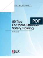 50 Tips for Effective Safety Training Vol 1