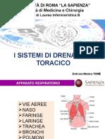 SISTEMI DRENAGGIO TORACICO