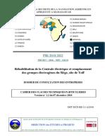 01 DCE CCTP Rehabilitation Des Installations Du Siege Site de Yoff