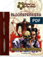 2101 Oriental Adventures - Bloodspeakers
