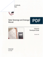 Ashghal Guide-Qatar Sewerage & Drainage Design Manual