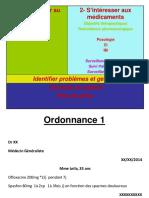 validation ordonnances Théme infectiologie