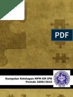 buku-tap MPM KM IPB-2010