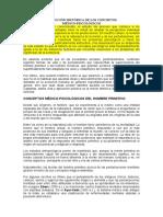 Evolución Histórica de Los Conceptos Medicos-psicologicos
