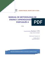 Módulo de Metodologia de Ensino e Aprendizagem do Portugues II (1)