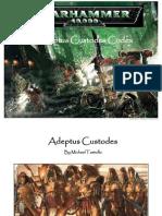 Adeptus Custodes Codex v1