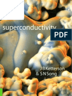 superconductivity by kitterson & song