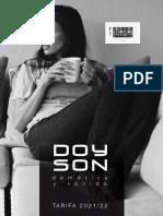 202107 DOYSON TARIFA 2021-2022