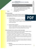 3.4. Memoria Descriptiva - Inst. Sanitarias