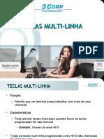 013 - Teclas multi-linha