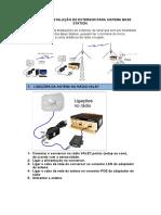 INSTALÇÃO E CONFIGURAÇÃO HF111B