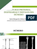 Fracturas de Húmero